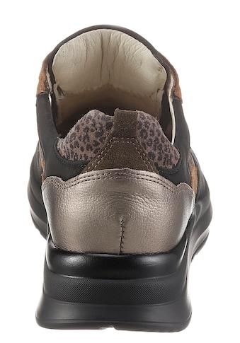 Waldläufer Wedgesneaker »H-ROSA«, in angesagter Leo-Optik, Komfortweite H kaufen