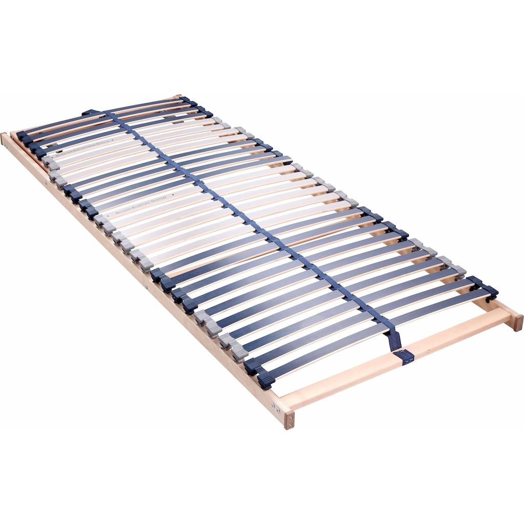 Beco Lattenrost »Dura Flex LR-K«, 28 Leisten, Kopfteil manuell verstellbar, 7 Zonen, ideal für Doppelbetten