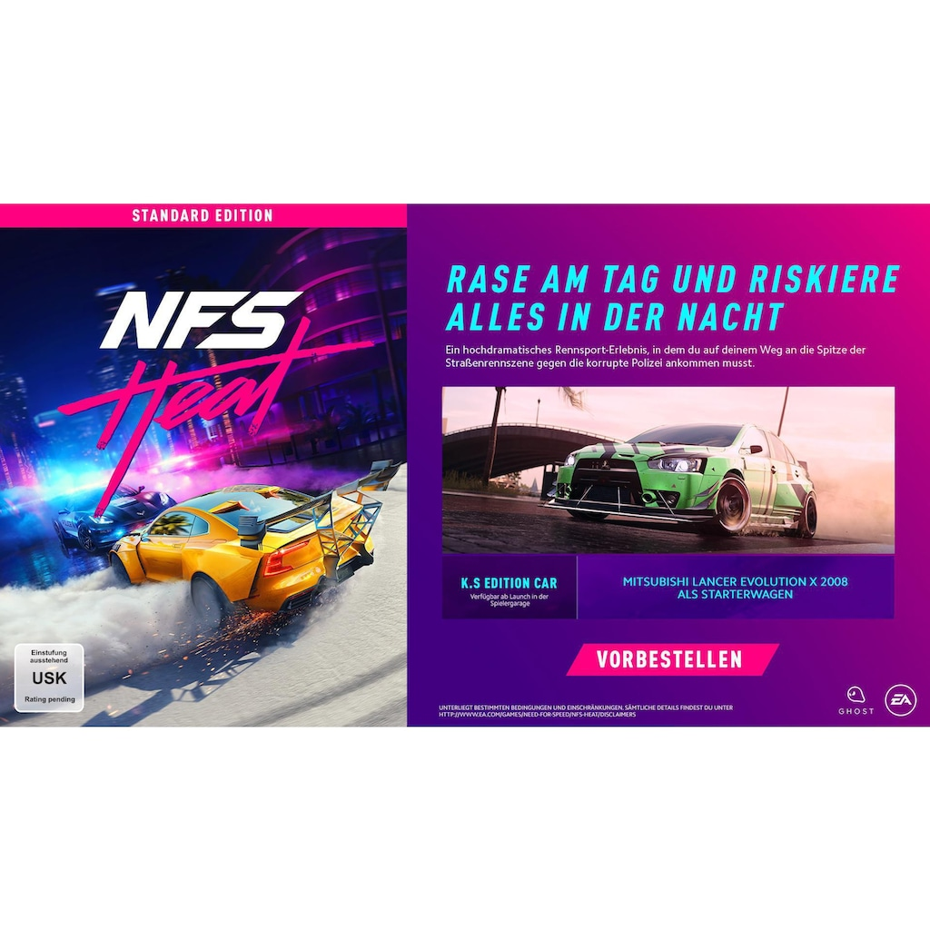 Electronic Arts Spiel »Need for Speed Heat«, PlayStation 4, Standard Edition
