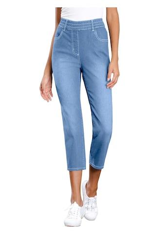 Classic Basics 3/4 - Jeans mit extra hohen Bund kaufen