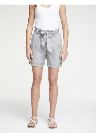 Shorts mit Bindegürtel kaufen