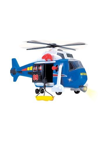 Dickie Toys Spielzeug-Hubschrauber, mit drehbarem Rotor, Licht und Sound kaufen