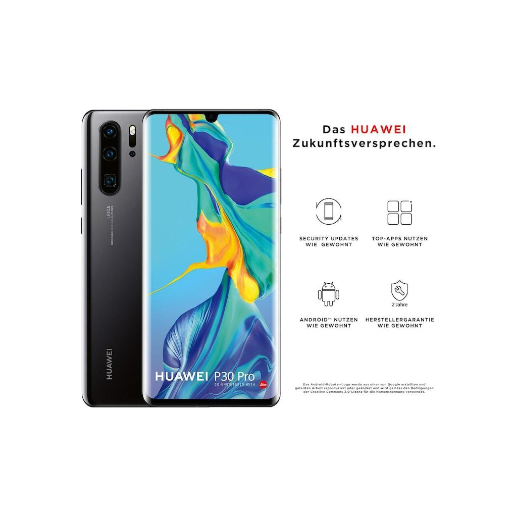 "Huawei Smartphone »P30 Pro Black«, (16,43 cm/6,47 "", 128 GB, 40 MP Kamera)"