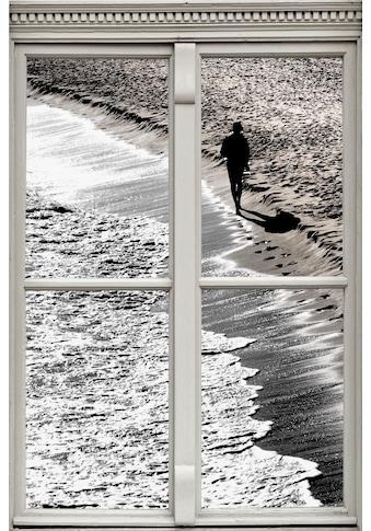 queence Wandsticker »Strand« kaufen