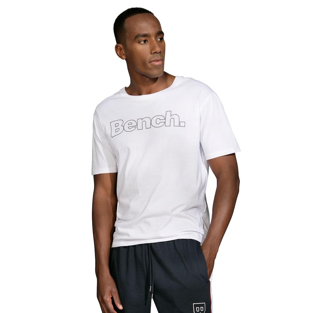 Bench. Kurzarmshirt »Homewear« (Packung, 2er-Pack)