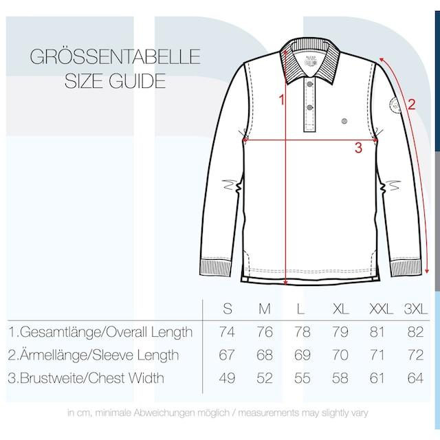 Blend Langarm-Poloshirt »Ralle«