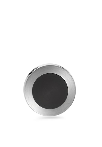TeNo Anhänger SUMA aus Edelstahl rund mit schwarzer Keramik kaufen