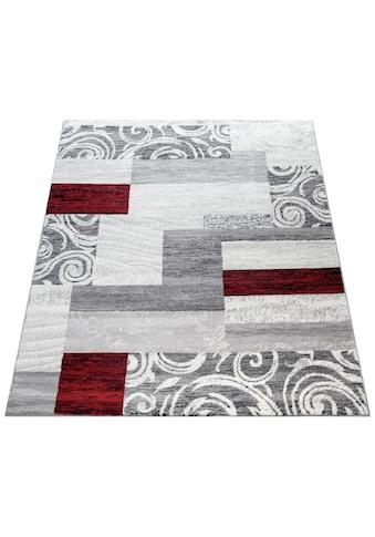 Paco Home Teppich »Sinai 053«, rechteckig, 9 mm Höhe, Kurzflor, Patchwork Design, mit... kaufen