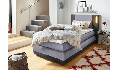 COLLECTION AB Boxspringbett »Abano«, inkl. Topper und LED-Beleuchtung kaufen