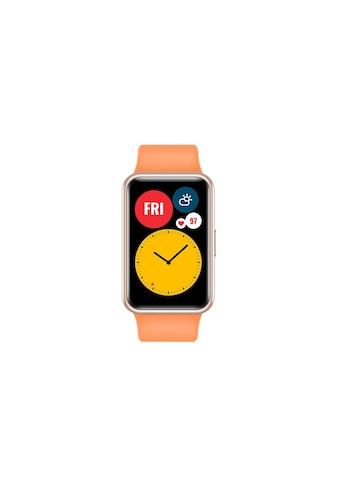 Huawei Smartwatch »Fit Cantaloupe Orange«, ( ) kaufen