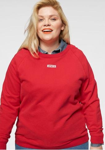 Levi's® Plus Sweatshirt »Graphic Tab Crew« kaufen