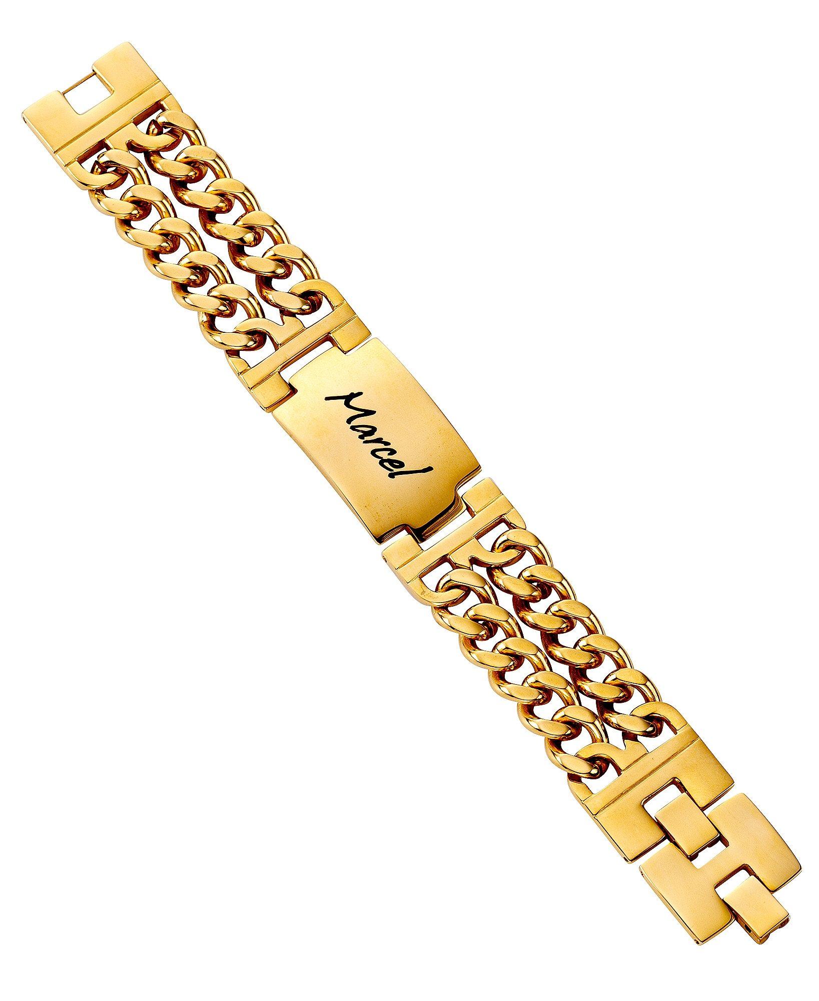 Image of Firetti ID Armband »mehrreihig, mit Gratis Gravur«