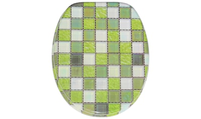 Sanilo WC-Sitz »Mosaik Grün«, mit Absenkautomatik kaufen