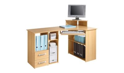 Schreibtisch »Sam«, mit Tastaturauszug und Towerfach kaufen