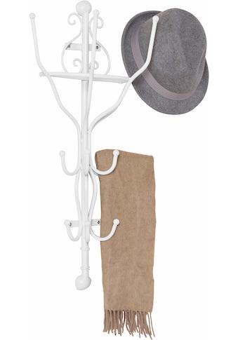 Home affaire Garderobe, halbrund weiss 70 cm kaufen