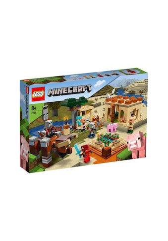 LEGO® Spielbausteine »Minecraft Der lllager-Überfall« kaufen