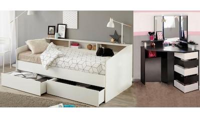 Parisot Jugendzimmer-Set »Sleep«, (Set, 2 tlg.), Stauraumbett und Schminktisch kaufen