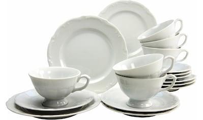 """CreaTable Kaffeeservice """"Maria Theresia"""" (18 - tlg.), Porzellan kaufen"""