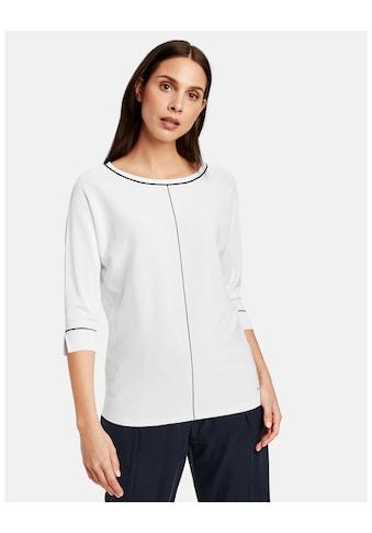 Taifun Pullover 3/4 Arm Rundhals »3/4 Arm Pullover aus hochwertigem Feinstrick« kaufen