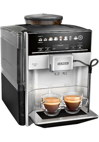 Kaffeevollautomat, Siemens, »EQ6plus S300 TE653501DE silberfarben« kaufen