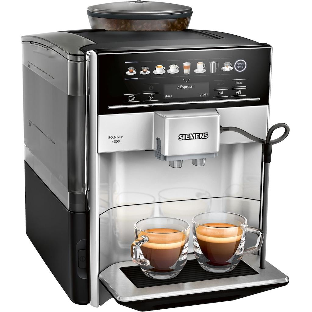 SIEMENS Kaffeevollautomat »EQ6plus S300 TE653501DE«
