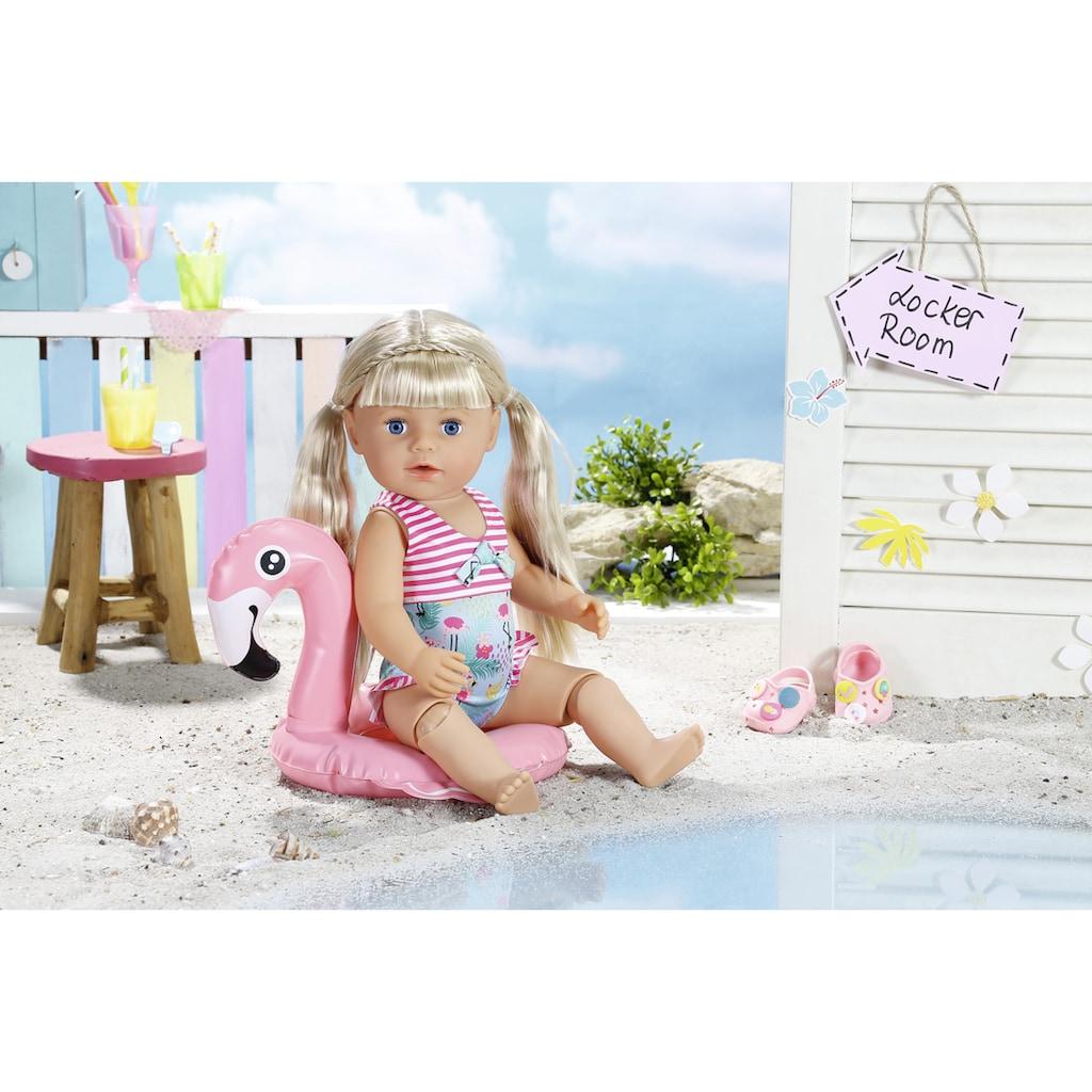 Baby Born Puppenkleidung »Holiday Schwimmspaß«, (Set, 9 tlg.)