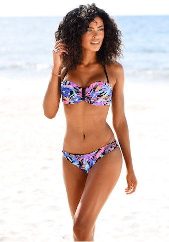 Bench. Bandeau-Bikini-Top »Pitch«, mit farbenfrohem Druck kaufen