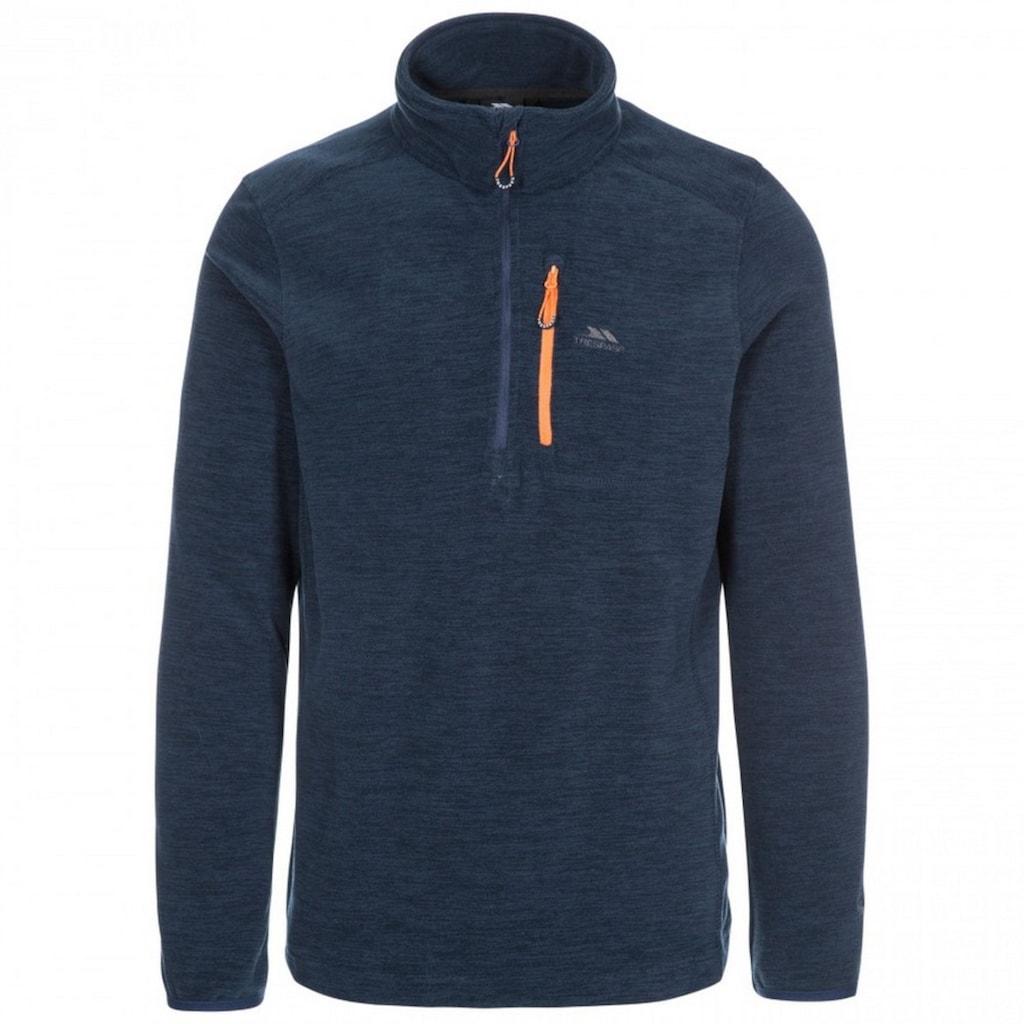 Trespass Sweatshirt »Herren Fleece- Flatlid mit Reissverschluss bis zur Brust«