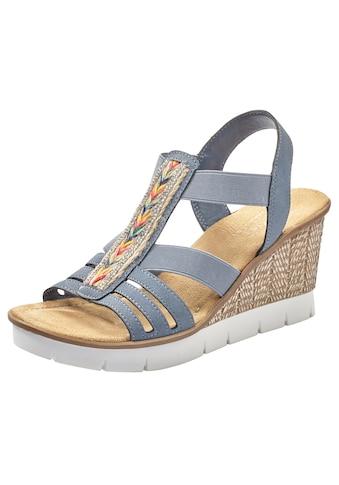 Rieker Sandalette, mit trendiger Stickerei kaufen