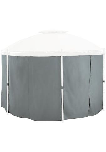 KONIFERA Seitenteile für Pavillon grau, 6 Stk., BxH: 180x185 cm kaufen