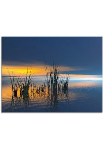 Artland Glasbild »Sonnenuntergang III« kaufen
