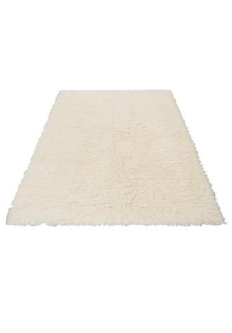 Hochflor - Teppich, »Flokos 1«, Theko Exklusiv, rechteckig, Höhe 40 mm, handgewebt kaufen