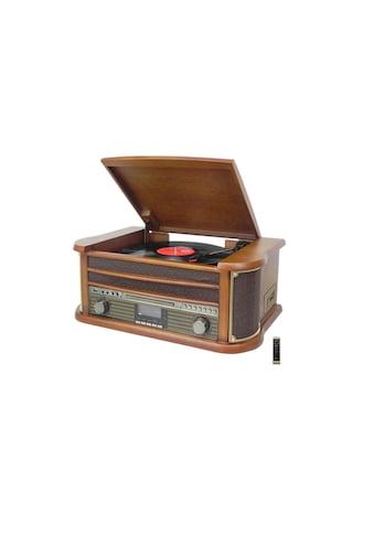Soundmaster Stereoanlage »NR545DAB Braun Mehrfarbig«, (CD-Bluetooth Digitalradio (DAB+)-FM-Tuner ) kaufen