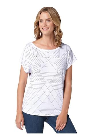 Ambria Shirt mit coolem Grafik - Print kaufen