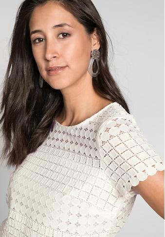 bianca Spitzenbluse »DAGMAR«, aus edler und stretchiger Spitze kaufen