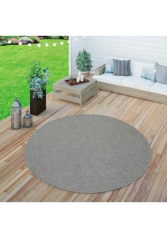 Teppich, »Timber 125«, Paco Home, rund, Höhe 75 mm, maschinell gewebt kaufen