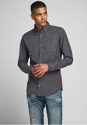 Jack & Jones Langarmhemd »Classic Melange Shirt« kaufen