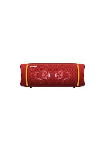 Sony Bluetooth-Speaker »SRS-XB33 Rot« kaufen