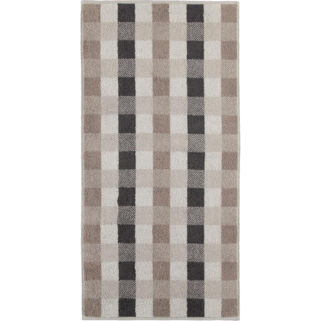 Cawö Handtücher »Check Karo«, (2 St.), mit Karo Muster
