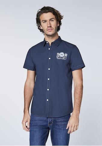 Oklahoma Jeans Hemd »mit kleinem Frontprint« kaufen