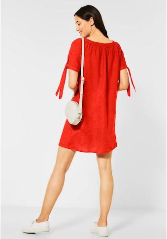 STREET ONE Sommerkleid, mit Schleifendetail kaufen