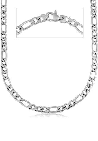 Firetti Edelstahlkette »Figarokettengliederung, glanz, ca. 4 mm« acheter