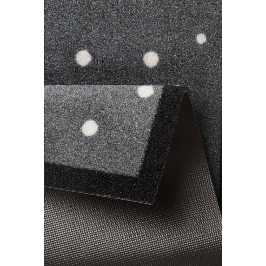 HANSE Home Fussmatte »3 Zwerge«, rechteckig, 7 mm Höhe, Fussabstreifer, Fussabtreter, Schmutzfangläufer, Schmutzfangmatte, Schmutzfangteppich, Schmutzmatte, Türmatte, Türvorleger, In- und Outdoor geeignet