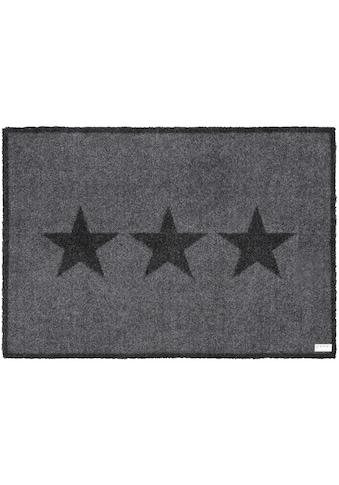 Zala Living Fussmatte »Sterne«, rechteckig, 7 mm Höhe, Fussabstreifer, Fussabtreter, Schmutzfangläufer, Schmutzfangmatte, Schmutzfangteppich, Schmutzmatte, Türmatte, Türvorleger kaufen