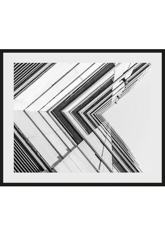 Places of Style Bild »Hochhaus«, mit Rahmen kaufen