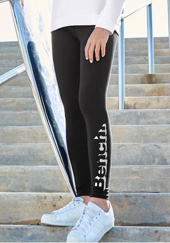 Bench : leggings avec imprimé logo aspect métallisé acheter