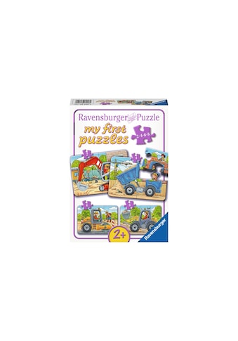 Ravensburger Puzzle »Meine Baustellenfahrzeuge« kaufen