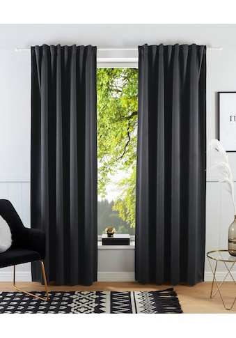 Guido Maria Kretschmer Home&Living Vorhang »Geriet«, blickdicht, gewebt, monochrom, basic kaufen