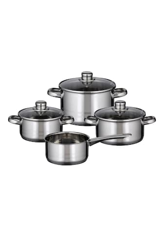 Elo - Meine Küche Topf-Set »Skyline«, Edelstahl 18/8, (Set, 7 tlg.) kaufen