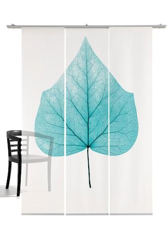 emotion textiles Schiebegardine »Lindenblatt«, HxB: 260x60, mit Befestigungszubehör kaufen